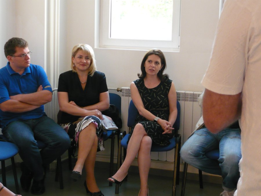 Adriana Saftoiu la Oradea