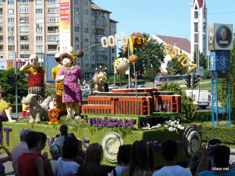 Carnavalul florilor Oradea
