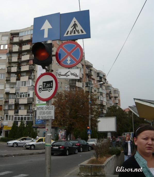 Semn de parcare interzisa
