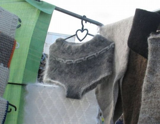 chiloti de lana