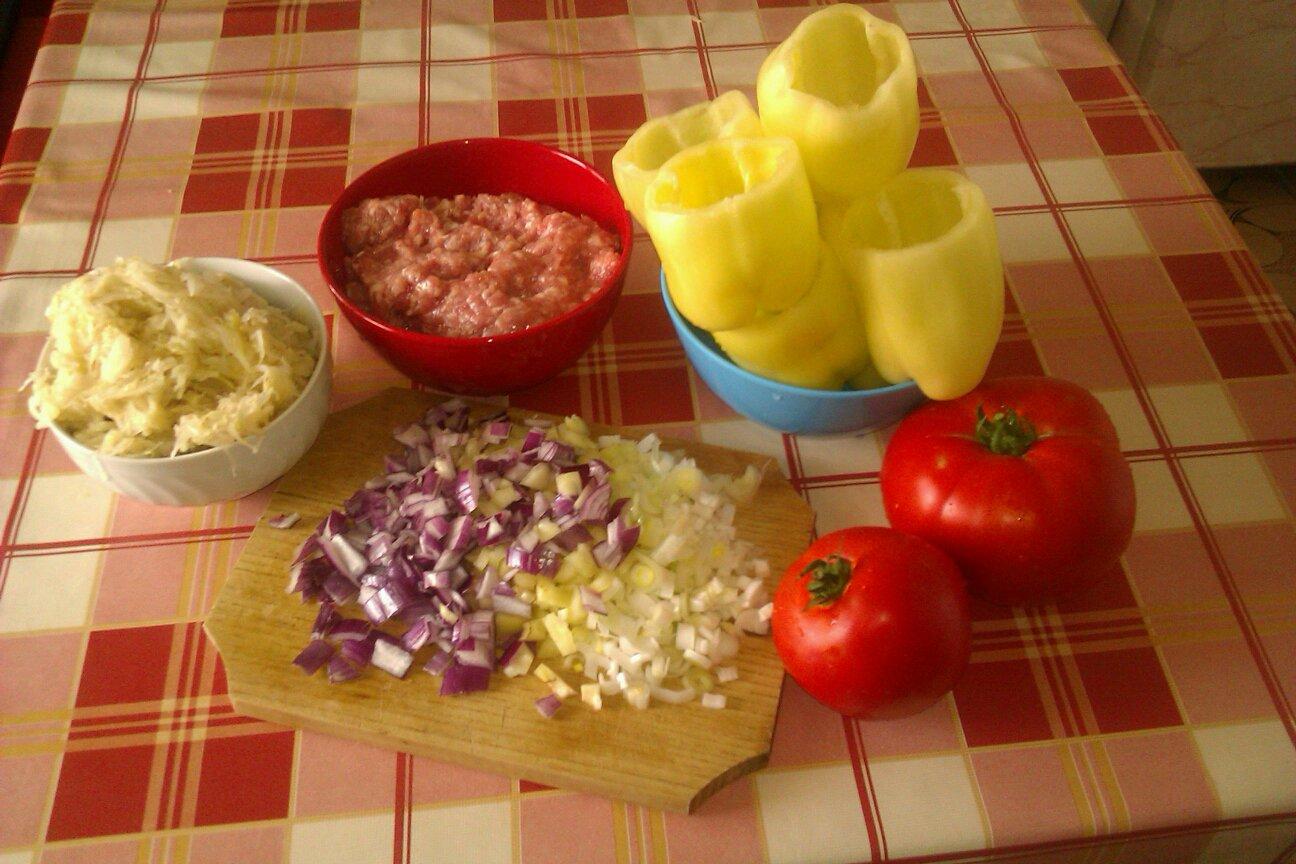 ingrediente pentru ardei umpluti