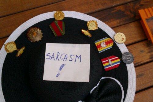 sarcasm hat