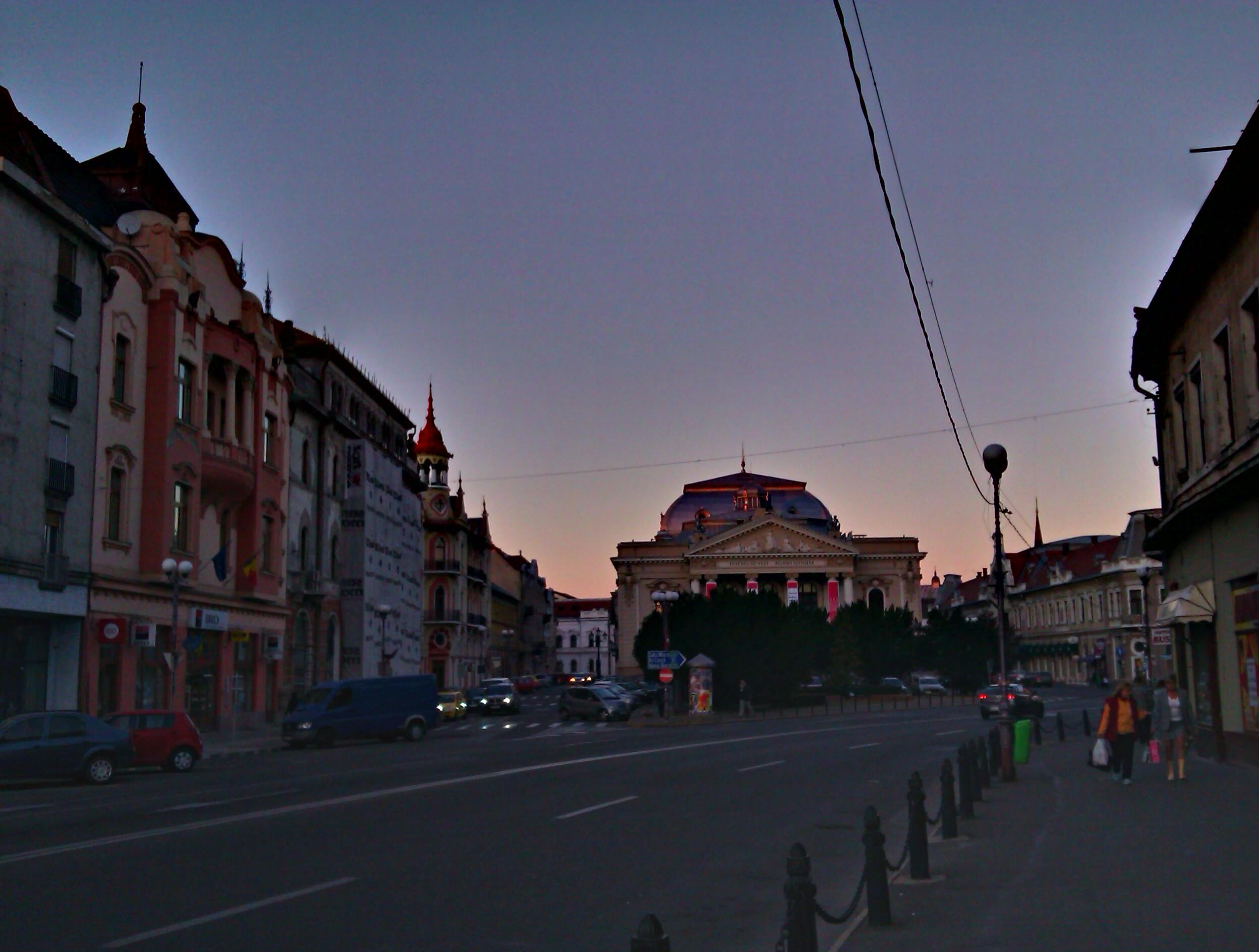 teatru Oradea HDR