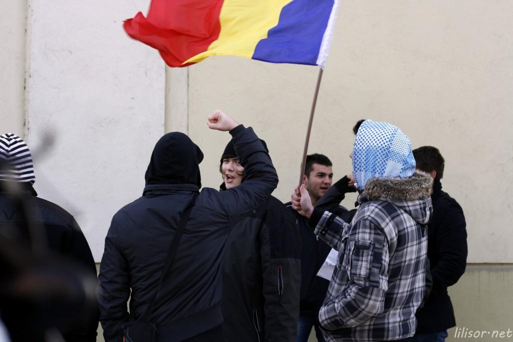 protest in Oradea