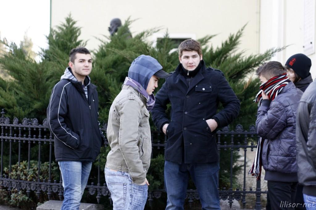 tineri protestatari oradea