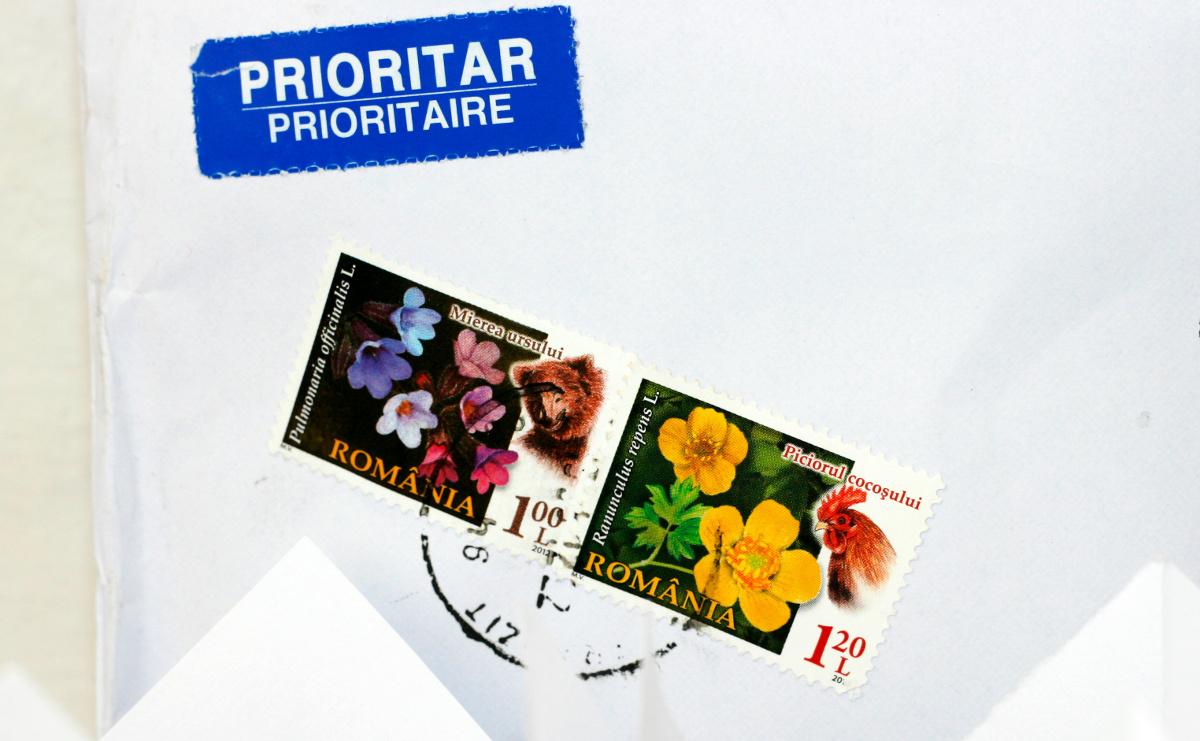 scrisoare prin posta