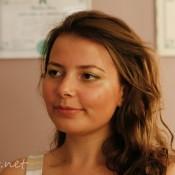 Eliza after makeup