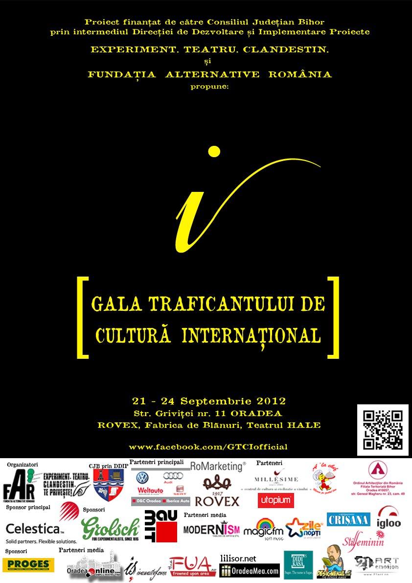 Gala Traficantului de Cultură Internațional (GTCI) 2012