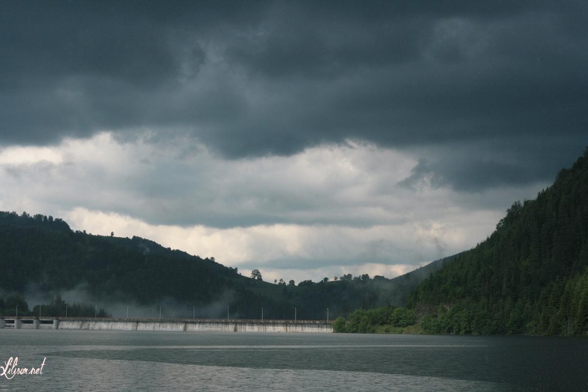ploaie barajul valea draganului