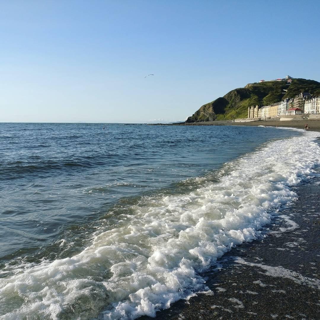 Marea în Aberyswyth