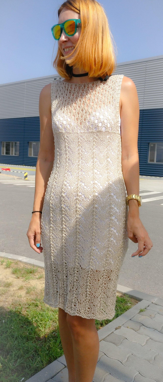 Prima rochie tricotata
