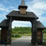 Poarta Manastirea lui Miron Romanesti
