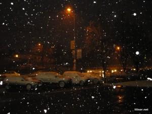 prima ninsoare din decembrie 2010 in oradea