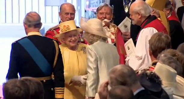 regina elisabeta si camilla parker bowles