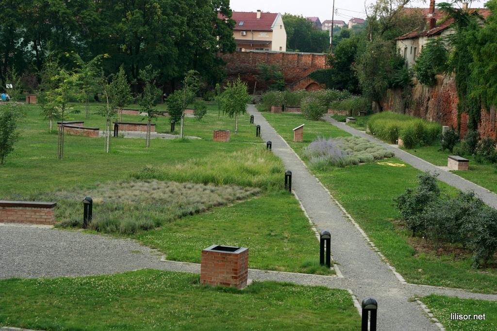 parcul dendrologic din santul cetatii oradea