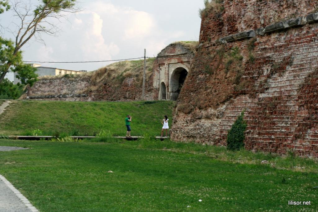 poze in santul cetatii oradea