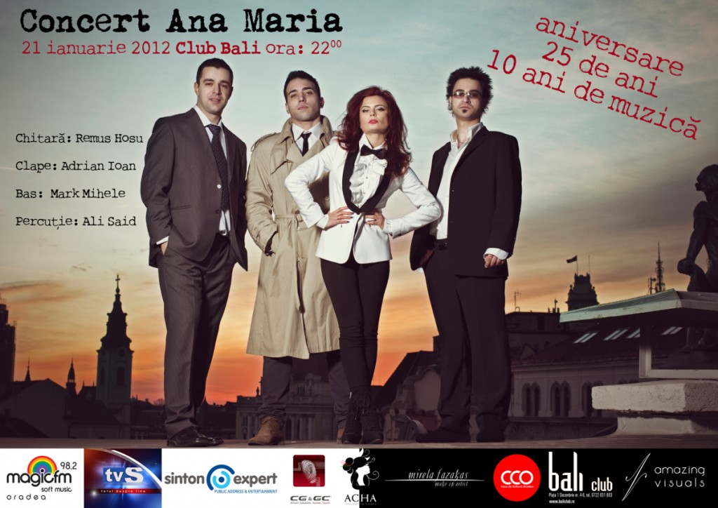afis concert ana maria georgescu