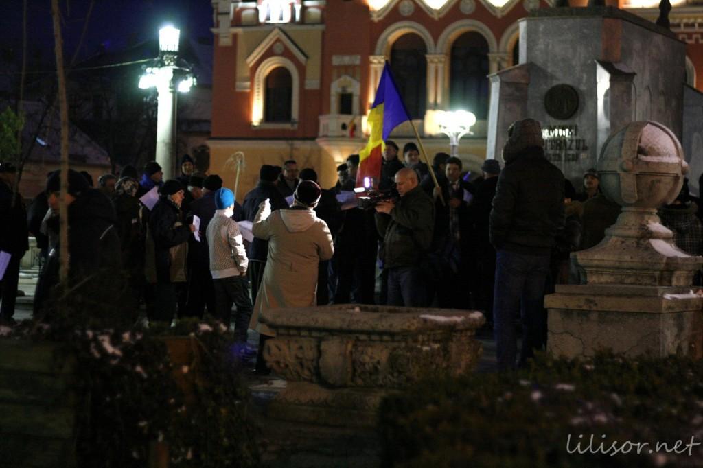 proteste oradea 16 ian 1