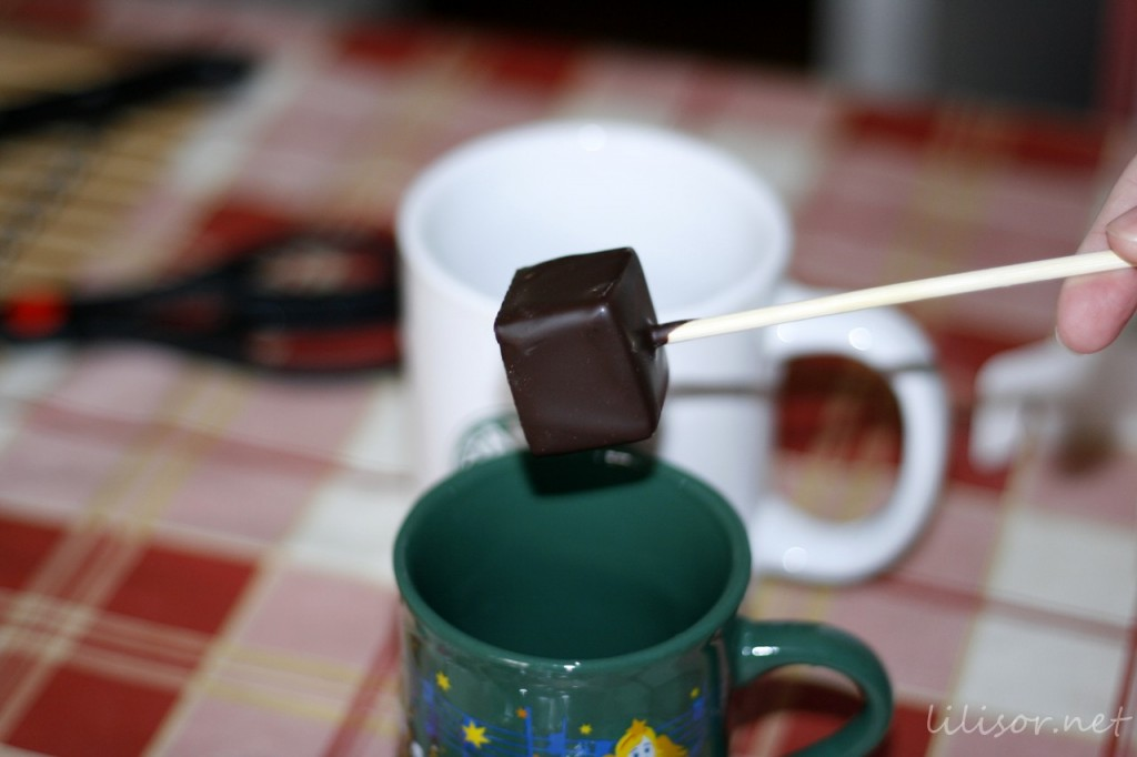 ciocolata pe bat