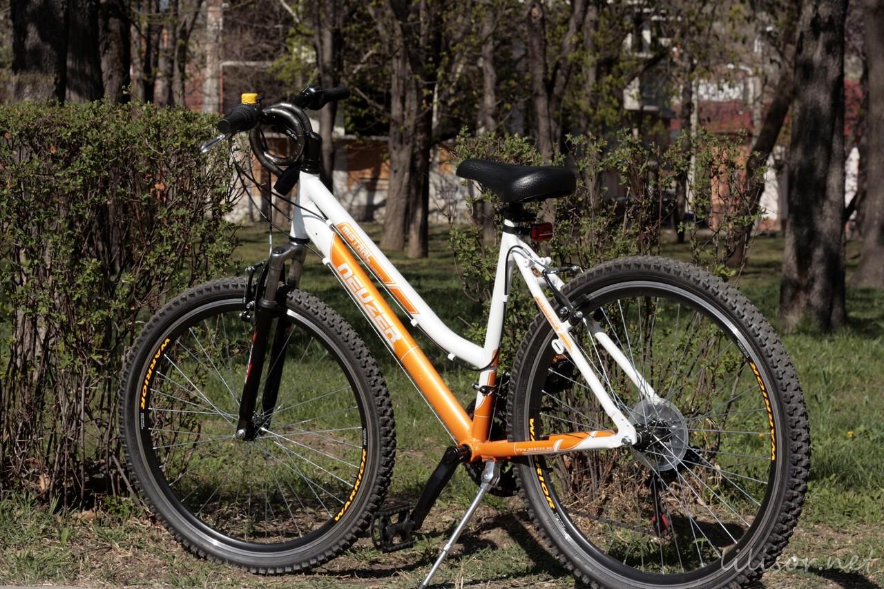 poza bicicleta neuzer mistral 18 lady