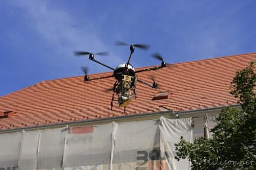 elicopter cu go pro