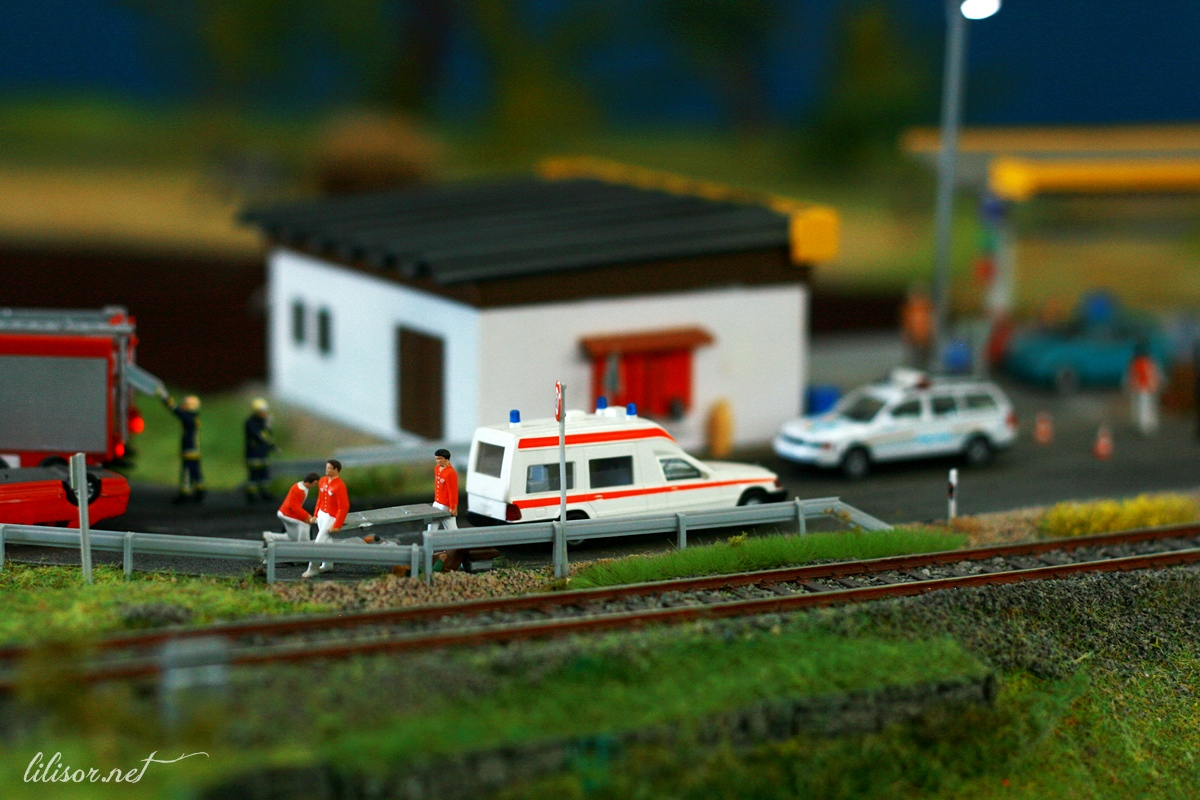 accident miniatura