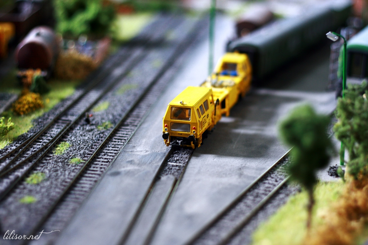 trenuri miniatura