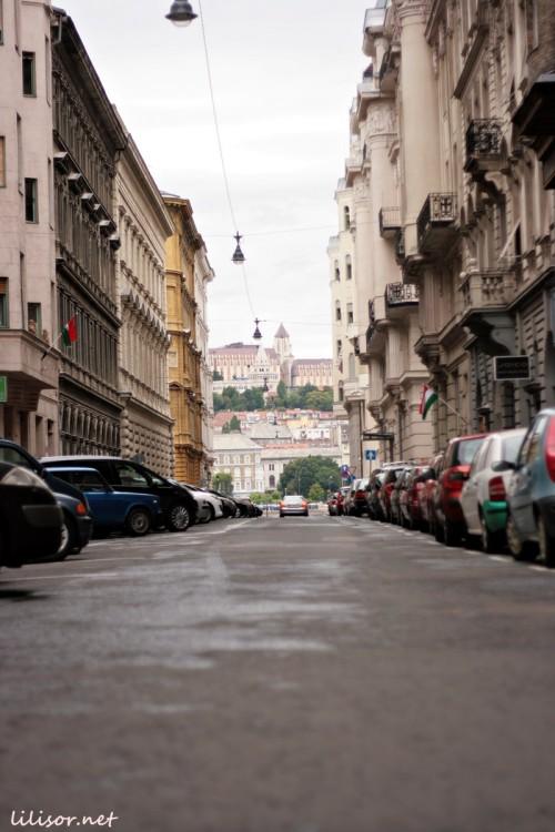 strada din budapesta